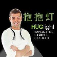 Free shipping 10pcs/lot multifunction U Shape flexible Led HUGlight /Led torch
