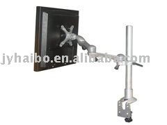 Aluminum-alloy clamp on table Lcd arm Manufacturer(black,silver color)(China (Mainland))