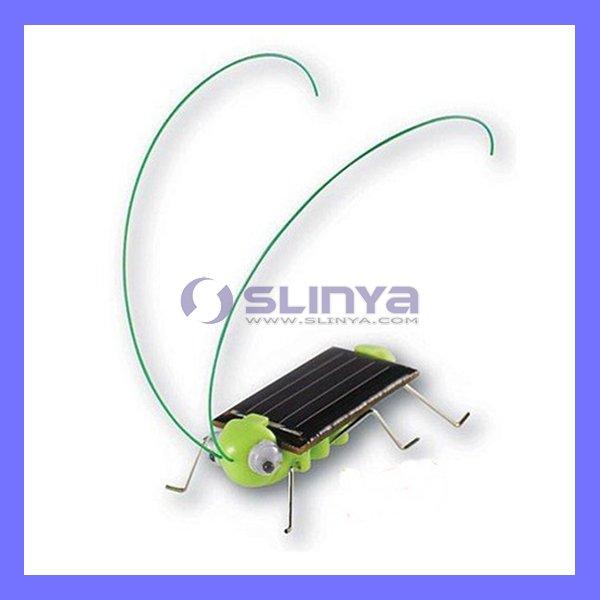 New design solar educational intelligent grasshopper toy(China (Mainland))