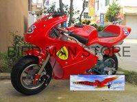 49cc Pocket bike Gas Powered Scooter Mini Motorcycle Mini Choppers Motorbikes