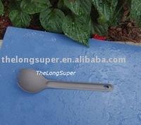 Titanium outdoors goods--Titanium Flatwares--Titanium forklike spoon  A028