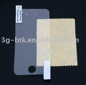 Free shipping: 100pcs/lot brand new LCD screen protector for Iphone 4 with retail packing
