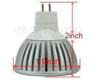 Free Shipping!!!  MR16 LED  White Spotlight Light Lamp Bulb 12V 3W