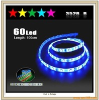 100cm Blue 60-LED Flexible Neon Strip Light 3528 ,car light