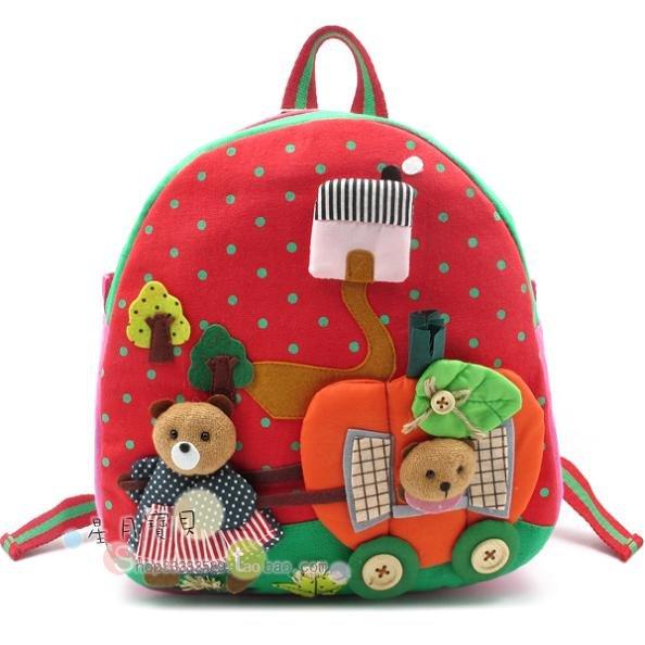 Natal : menor preço à venda para crianças schoolbag.backpack.bag.gif t presente grátis frete bonito e belo crianças(China (Mainland))