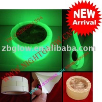 Photoluminescent tape self-adhesive 5cm x 10m in roll PVC material + one piece per package + Free Shipping