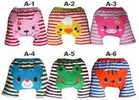 24pcs/lot-Animal prints cartoon Cute pp pants/Baby cotton pants/Infant&Toddler's pants 6 styles