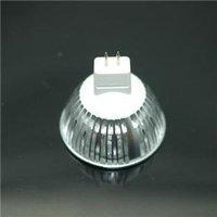 new White 3Watt 3W MR16 LED 12V Lamp Spot light Bulb