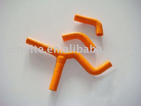 KTM 450/525 SX 2003-2006 motorcycle silicone radiator hose,KTM 450SX 525SX 03 04 05 06(China (Mainland))