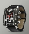 free shipping BRM Titanium Chrono-Automatic Watch, Black Case