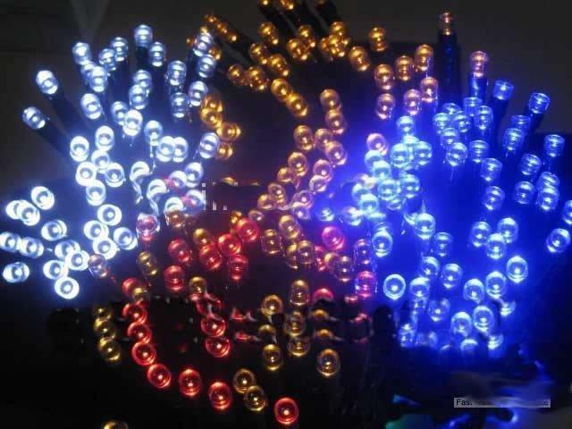 Aliexpress.com : Buy 60white/bule Mixed Wholesale Mini solar energy LED Christmas lights 33 ...
