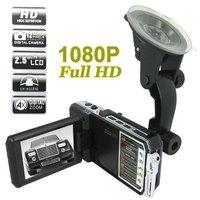 Freeshipping+Wholesale+1920 x 1080P HD Video Recorder + 2.5 Inch LCD Screen 5.0MP Car DVR