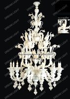 murano crystal chandelier/  chandelier/ steel+glass/ D1200*H1700mm+free shipping