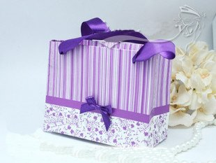 Free shipping 200pcs/lot fashion style wedding gift box candy box Christmas gift box TS-61(purple)