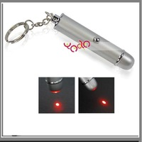 Free Shipping From USA! Wholesale 5pcs/lot! Best Gift! + 10mW 650nm Ultra Powerful Bullet Red Laser Pointer - E00201