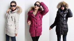 Brand designer women's down jacket winter skiing coats NEW ARRIVE! Xmas hot sale(China (Mainland))