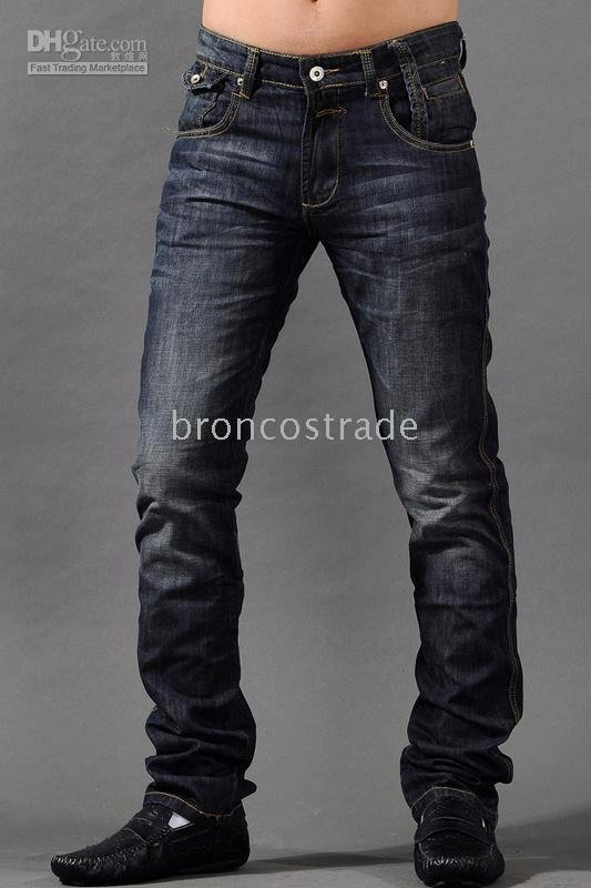 2010 Fashion Men's Desinger 100% Brand New Denim Jeans Trousers,Top Quality,mix order,mix colour,hot(China (Mainland))