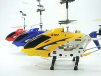 5PCS best selling  New Arrival best SYMA S107G RTF 3CH Rc Helicopter ,With GYRO & Aluminum Fuselage By EMS shipping + Gift