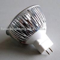 Free shipping MR16 CREE 3X2W warm white Led spot light