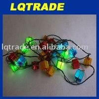 2011 Christmas Gift/7 colour box lamp Festival lights/Household decorative light/Candy box of light 3.5m