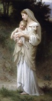 Free shippingreproduction classical artists Bouguereau Hand painted oil painting decoration painting P10
