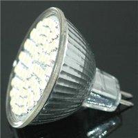Free Shipping!!! 12V MR16 Warm White 60 SMD LED Spot Light Bulb Lamp New