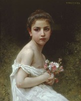 Free shippingreproduction classical artists Bouguereau Hand painted oil painting decoration painting P31