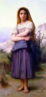 Free shippingreproduction classical artists Bouguereau Hand painted oil painting decoration painting P48