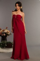 Free shipping good bridesmaid dress/ fashion sexy long evening dress/ evening gown / party dress
