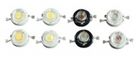 red 1W high power led  620nm;30-50lm