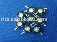 3W green high power led