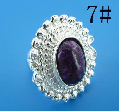 silver-Sun-flower-turquoise-finger-ring-US-standards-size-7-R353.jpg