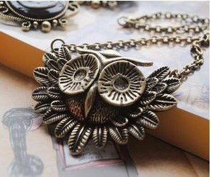 FREE SHIPPING 6 PCS Stylish Lovely Owl Necklace Pendant Fashion Necklace Pendant Jewelry Female/Ladies/Girls&#39; Jewelry(China (Mainland))