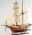 "Harvey 1847 Baltimore Clipper Wood Model Ship 35"" Boat kits Free Shipping For Christmas & New Year"