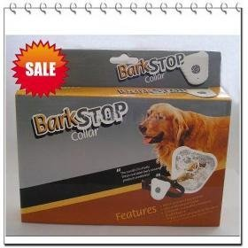 Free shipping Waterproof Ultrasonic Anti Bark Collar Stop Barking 10pcs(China (Mainland))