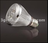 New Arrival: dimmable bulbs: high power  5*1W PAR20 LED downlight, warm white, white, cool white
