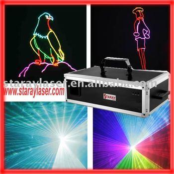 3watts RGB full color amazing Disco laser light,laser lighting