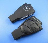 Free shipping by HKP MOQ:1pc Benz smart key shell 3-button