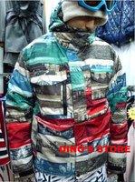 Free Shipping!!  BURTON  JET JKT Utility 5K Monogram Snowboard Jacket