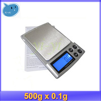 500g ~ 0.1g Mini LCD Digital Jewelry Pocket Gram + free shipping