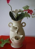 The Most Fashion Ceramic Fountain Flower Vase, Custom Ceramic / Glass Bottle Vessel