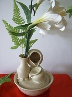The Most Fashion Ceramic Fountain Flower Vase PL8048CB