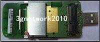 NEW MINI PCI-E WWAN TO USB ADAPTER WITH SIM CARD SLOT