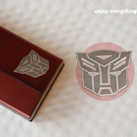 South Korea radiation gold stickers / Sticker - Autobot