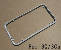 Metal Chrome Bezel Frame Housing for 3G 3GS White Color
