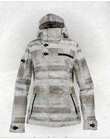 Free Shipping!! NEW Gorgeous B****n Monogram Ski Snowboard Jacket Coat