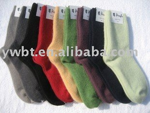Lady'swool socks/ thick warm socks USD6.88/pair,pure color socks(China (Mainland))