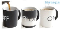 wholesale and retail free shipping color changing mug,color changing cup,Novelty product,novelty mug