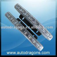 Free shipping!DRL,Daytime running light,2pcs/set,8 FLUX  high brightness LED AD-2-8LED