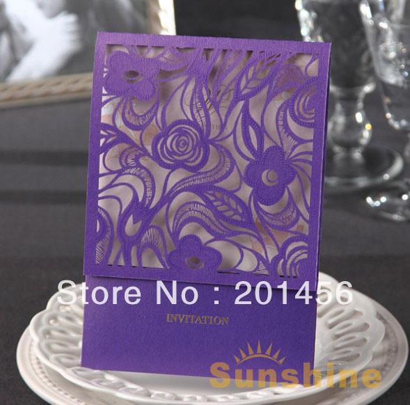 Aliexpress.com : Buy Invitation card. Wedding invitation, CW1004